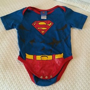 Baby superman onesie Halloween